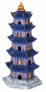 5 Story Pagoda of Nanjing China Aquarium Ornament