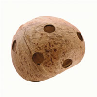 Hagen Living World Natures Treasure Coconut - Medium and Large Hookbills