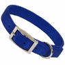 Hagen Dogit Nylon Collar with Buckle - Double Ply 1 X 26 inch Blue