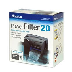 Aqueon Power Filter 20 for Aquariums up to 20 Gallons