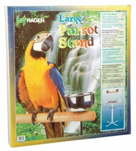 "(B7160) Living World Parrot Stand, Large (27.5"" Dia. x 49.25""H)"