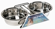 Dogit Stainless Steel Double Dog Diner, Large