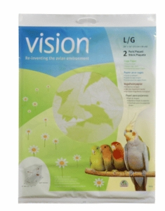"Vision Bird Cage Paper, Large 28"" x 14"""