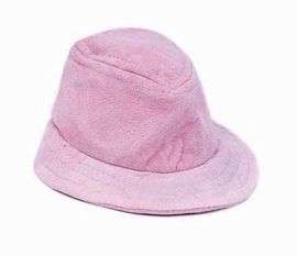 Steppin Out Dog Hats Pink FauX Suede Hat