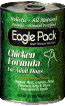 Eagle Pack Holistic Natural Chicken with Oat Bran Formula Canned Dog Food Case of 12 / 13 oz. EZ Open Top Cans