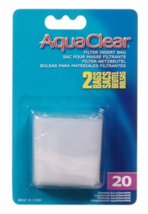 Aqua Clear 20 (Mini) Nylon Bag (2/Pack)