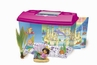 Dora-The-EXplorer Mermaid Adventure Aquarium Kit 3 Gallon Tank Opening Lid Background