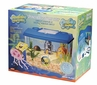 Spongebob Square Tank Aquarium Kit 4 Gallon Tank Opening Lid Background
