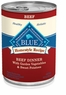 Blue Buffalo Beef Dinner Dog Food 12/12.5-oz cans