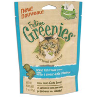 Feline Greenies Ocean Fish 2.5 oz Bag