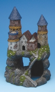 Medieval Castle Aquarium Ornament by Blue Ribbon