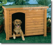 Outback Log Cabin Dog House