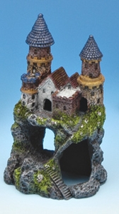 Small Enchanted Castle Ornament