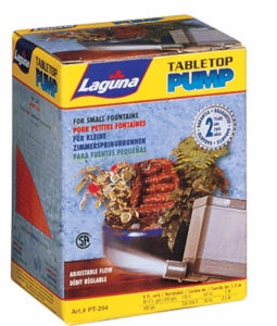 Hagen Laguna Table-Top Replacement Pump, (80 gph)