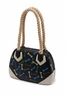 Steppin Out Vinyl Purse - Bone Pattern