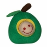 Hagen Dogit Plush Worm Green Apple Fruity Toy
