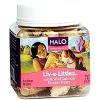 Halo Pets Liv-A-Littles Salmon Treats 1.6 oz