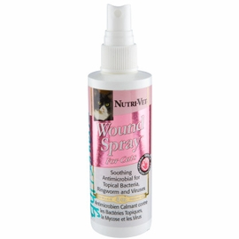 Nutri-Vet Wound Spray for Cats 4 oz Bottle