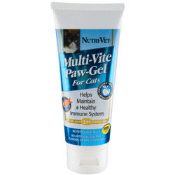 Nutri-Vet Multi-Vite Paw Gel for Cats 3 oz Tube