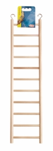 (B1504) Living World Wooden Ladder, 11 Steps