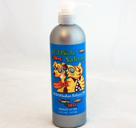 WildSide Salmon Oil 16 oz