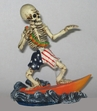 Surfing Skeleton