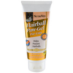 Nutri-Vet Hairball Paw Gel for Cats 3 oz Tube