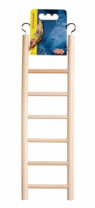 (B1502) Living World Wooden Ladder, 7 Steps