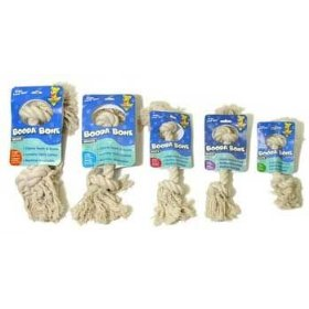Aspen Knot Rope Bone, 2 X-Large White