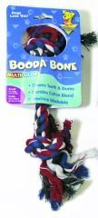 Aspen Pet Booda Multicolor Small Rope Bone For Dogs 8-18 lbs