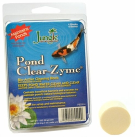 Jungle Labs Pond Clear Zyme Block - 4 Pack