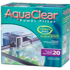 AquaClear 20 Power Filter - (formerly AquaClear