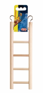 (B1501) Living World Wooden Ladder, 5 Steps