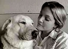 Drew Barrymore and Flossie