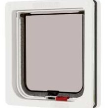 Ani Mate Door Lockable Cat White