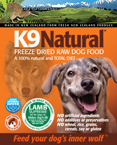 K9 Natural Freeze Dried Raw Lamb Dog Food 1.1 Lb