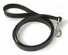 "Town Lead Leather Dog Leash 1"" x 48"" Bolt Snap Black by Auburn Leathercrafters"