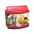 Mini Bow 5 Gallon Bow Front Acrylic Aquarium Kit Red