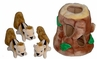 Kyjen Hide A Squirrel� Puzzle Plush Hide N' Seek Dog Toy Junior