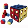 Kyjen IQube II� Cagey Cube� Puzzle Plush Dog Toy Large