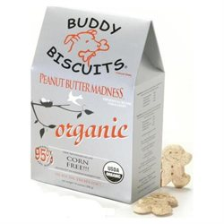 Organic Buddy Biscuit Peanut Butter 14 oz