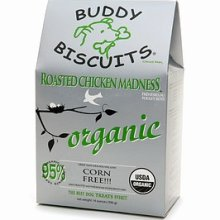 Organic Buddy Biscuits Roasted Chicken 14 oz