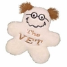 Kyjen Plush Puppies Funny Fleece The Vet