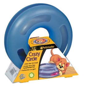 Aspen Petmate Crazy Circle Interactive Cat Toy- Large