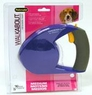 Aspen Walkabout Retractable Leash, Blue- Medium