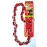 "Aspen Comfort Chain Collar, 4Mm X 24"" Red"