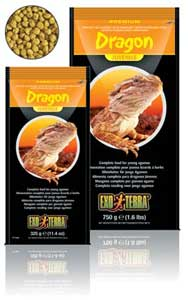 Exo-Terra Bearded Dragon Juvenile Food, 11.5 oz.