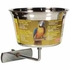 (B752) Living World Stainless Steel Parrot Cup, 32 oz.