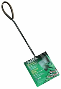 "(A1261) Marina 3"" Black Coarse Nylon w/10"" Handle"