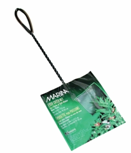 "(A1263) Marina 5"" Black Coarse Nylon w/10"" Handle"